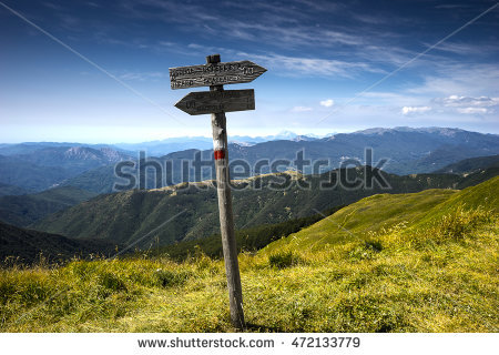 Apennines Hike Stock Photos, Royalty.