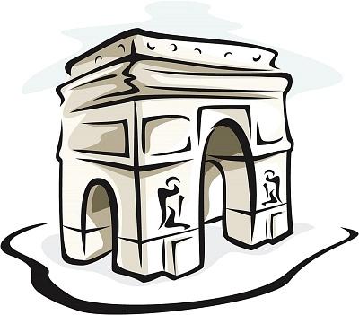 Arc De Triomphe Clipart.