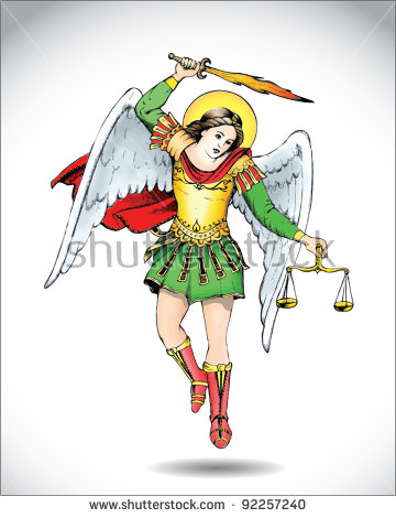 angel michael clipart - photo #5