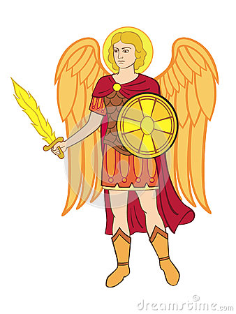 Michael The Archangel Stock Images.