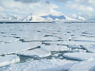 Arctic Sea Ice Clipart.