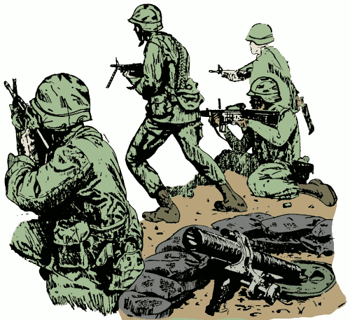 Free Army Clipart Pictures.