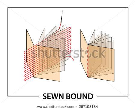 Book Binding Stock Vectors, Images & Vector Art.