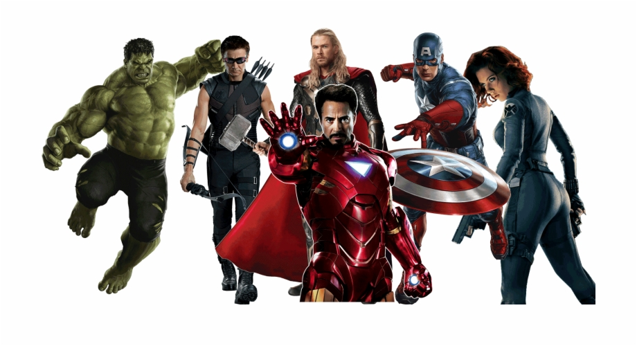 Avengers Png Transparent Picture2.