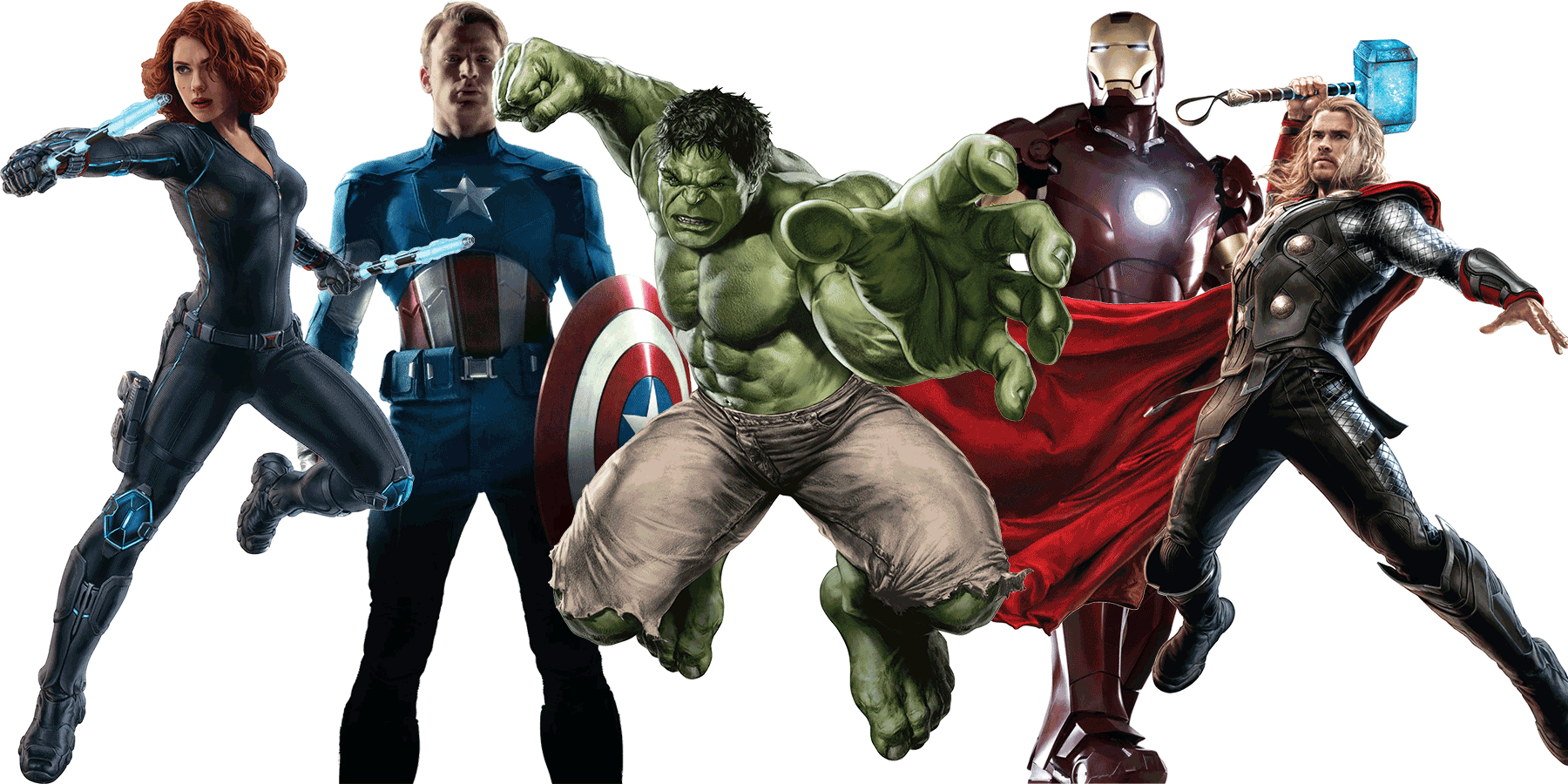 HD Avengers PNG Transparent Images.
