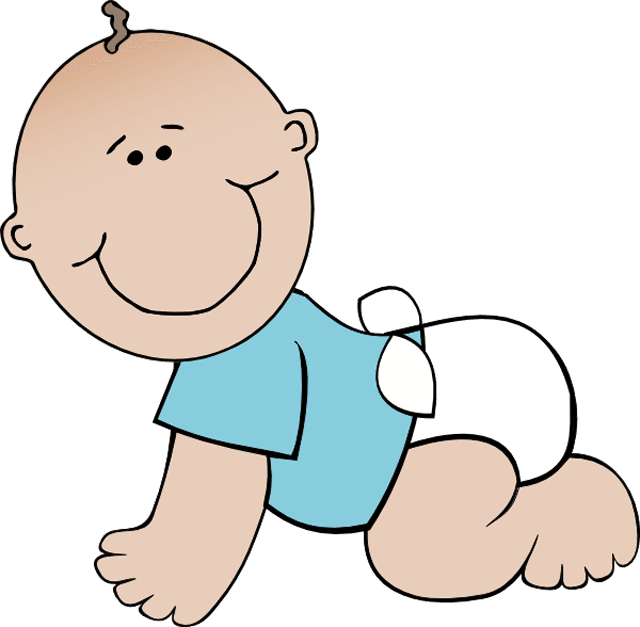Baby clip art free and boy babies on.
