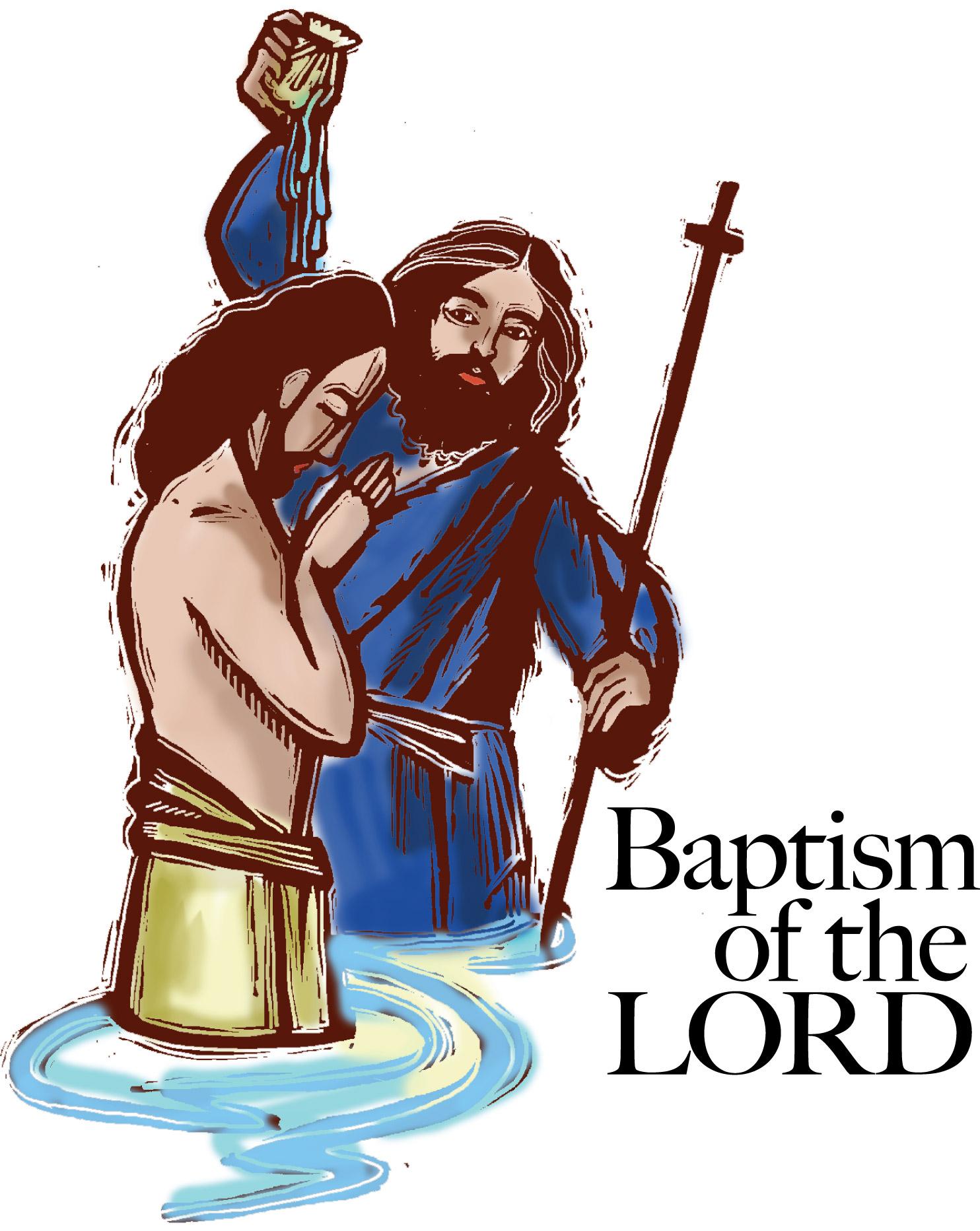 Baptism Of Jesus Clipart.