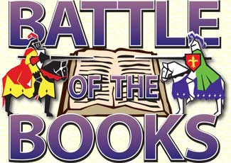 The Battle Of Books Clipart.