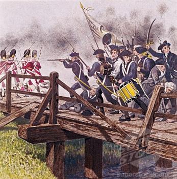 Battle Of Lexington And Concord Clipart.