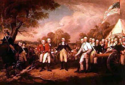 The Battle of Saratoga.
