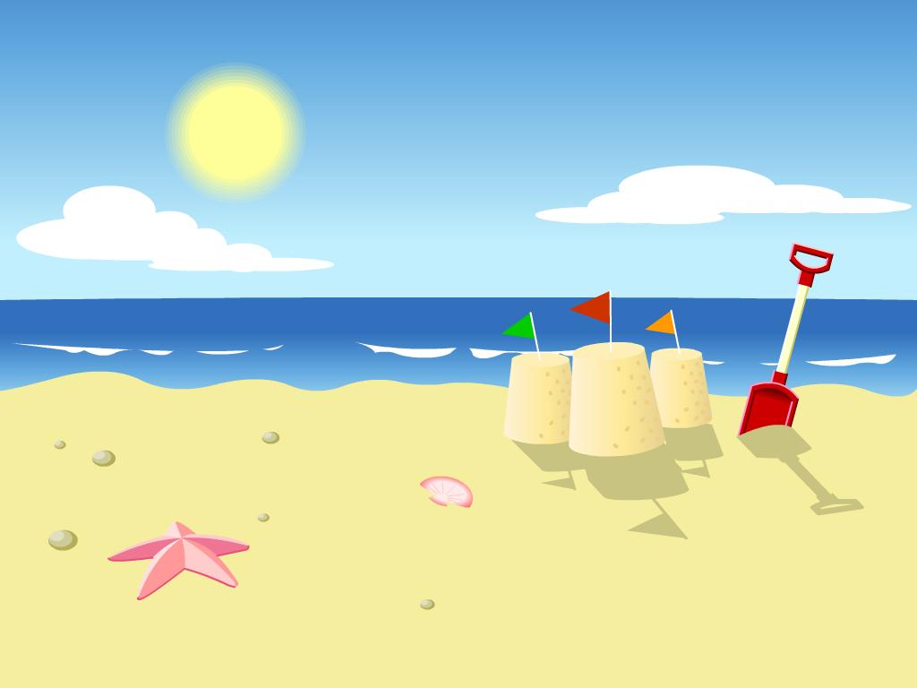 8+ The Beach Clipart.