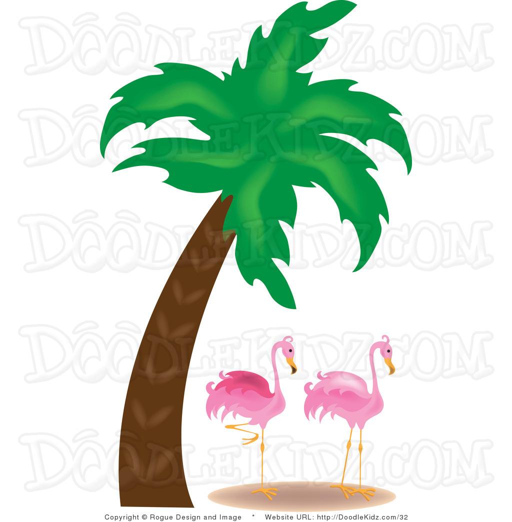 Beach Coconut Palm Tree Clipart.