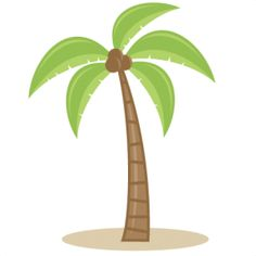Beach Tree Clip Art.