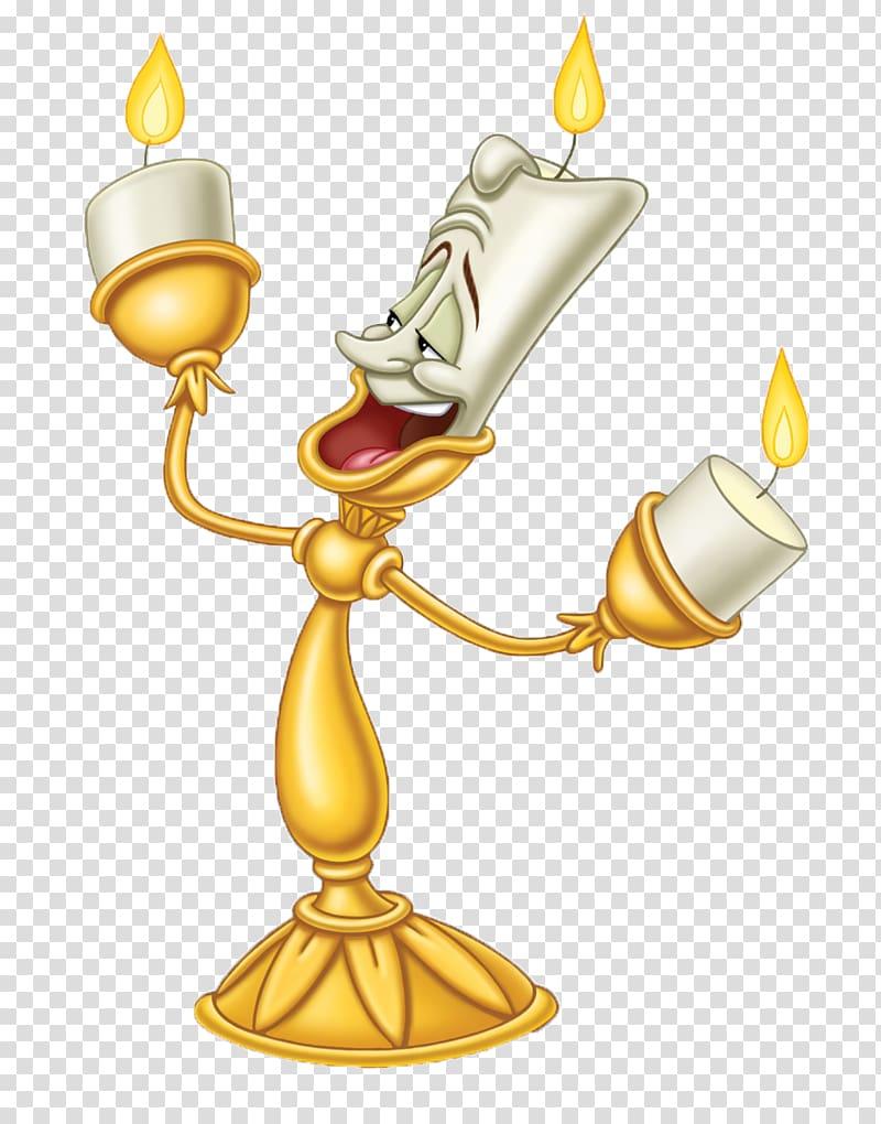 Walt Disney\'s Beauty and the Beast candelabra character.