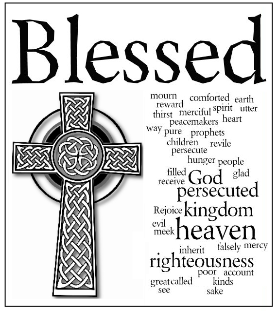 The Beatitudes Paraphrased.