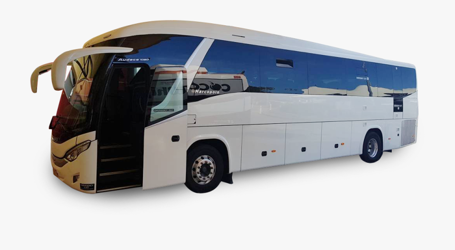 Marcopolo Bus Clipart Png , Png Download.