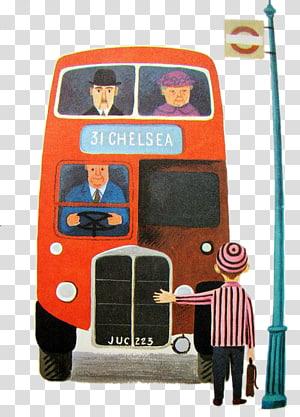 Bus Helsinki Regional Transport Authority Illustration, Bus.