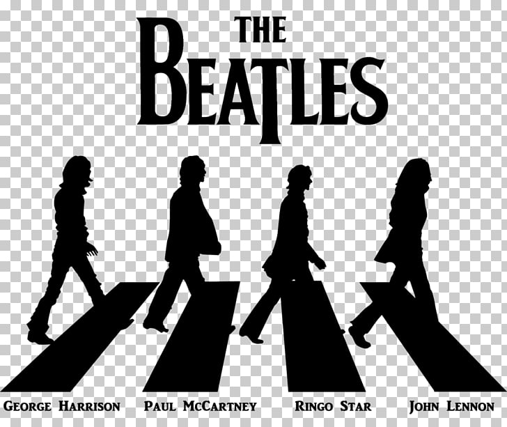 Abbey Road The Beatles Logo Music, beatles PNG clipart.