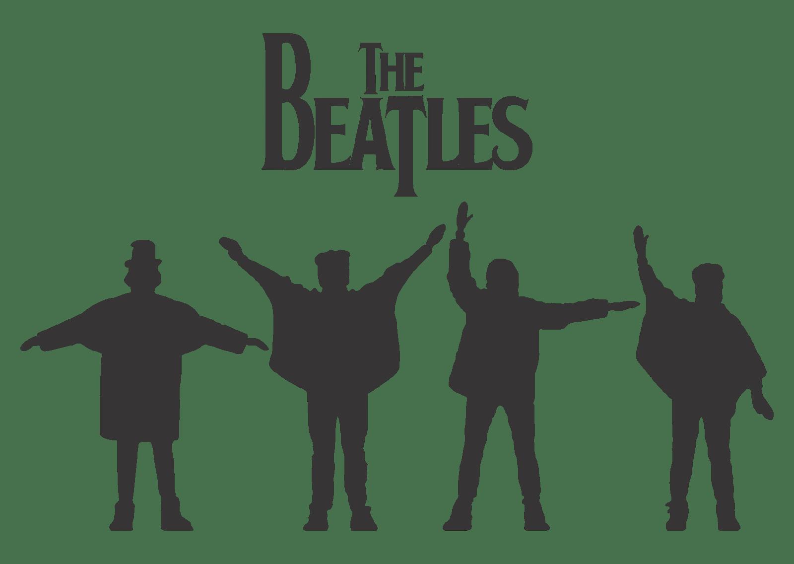 Help Beatles Logo transparent PNG.