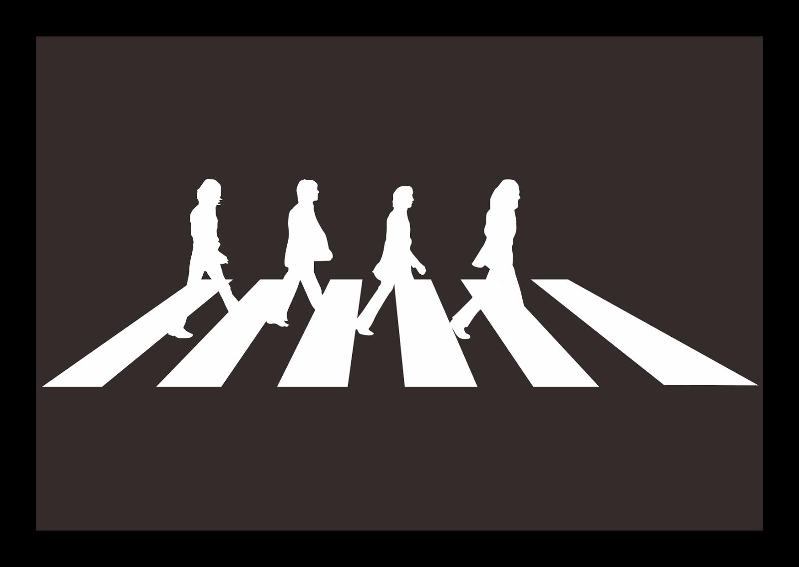 The Beatles Logo 0 Abbey Road.