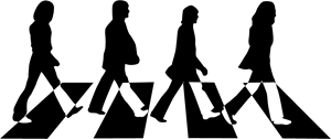 The Beatles Logo.