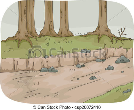 Dried River Clipart.