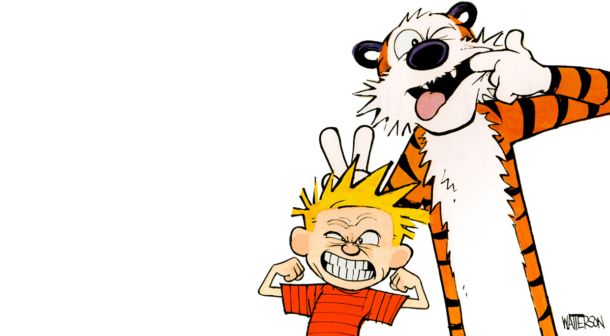 Calvin & Hobbes: officially the best thing in the world.
