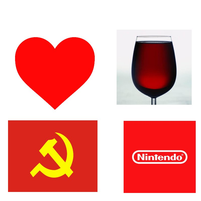 Ever noticed that the best things in life are red? : FULLCOMMUNISM.