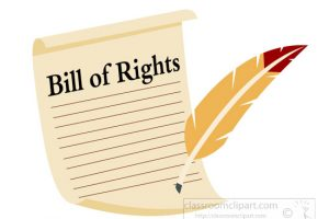 The bill of rights clipart 1 » Clipart Station.