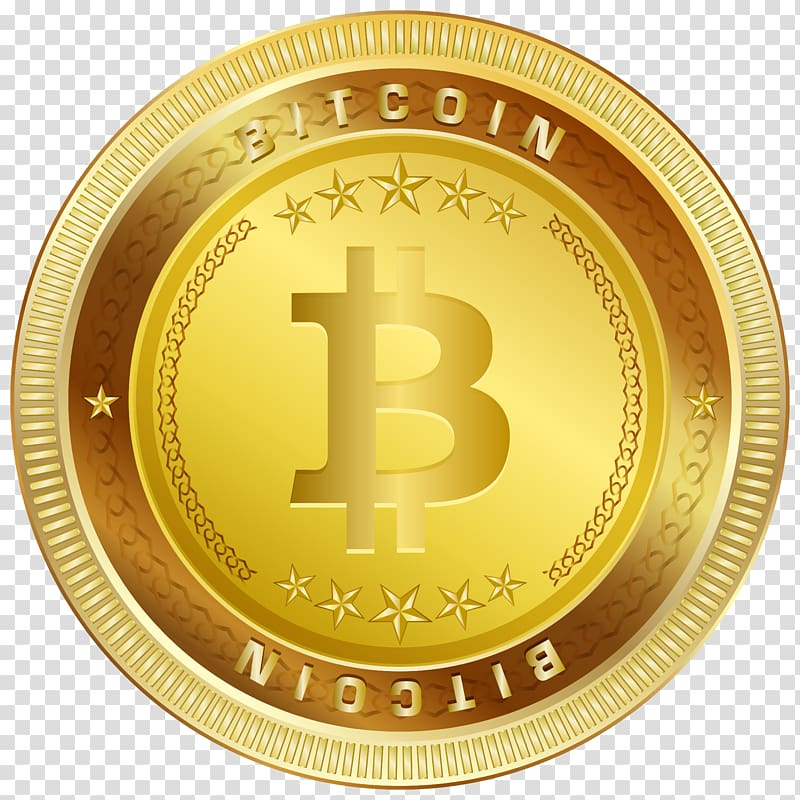 Gold Billion logo illustration, Bitcoin Cryptocurrency.