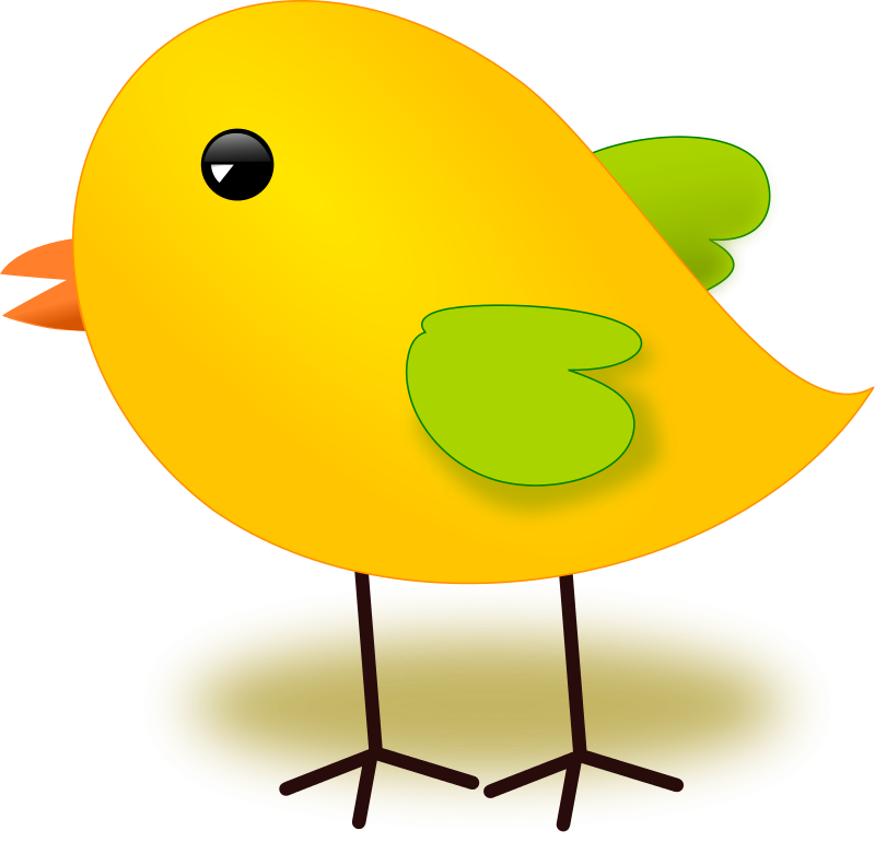 Bird With Egg Clip Art.