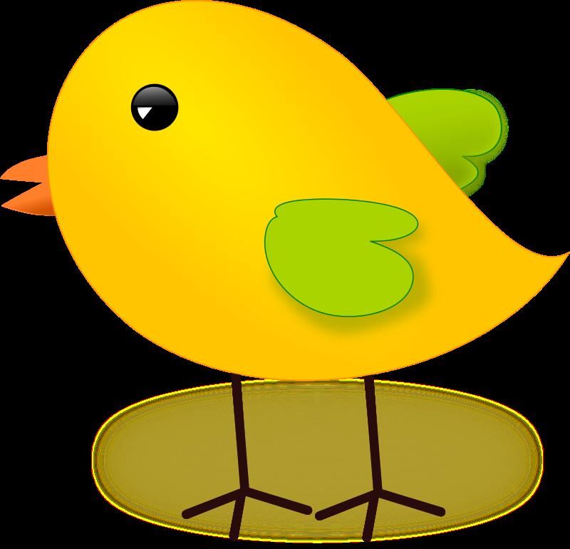 Bird With Egg Clip Art.