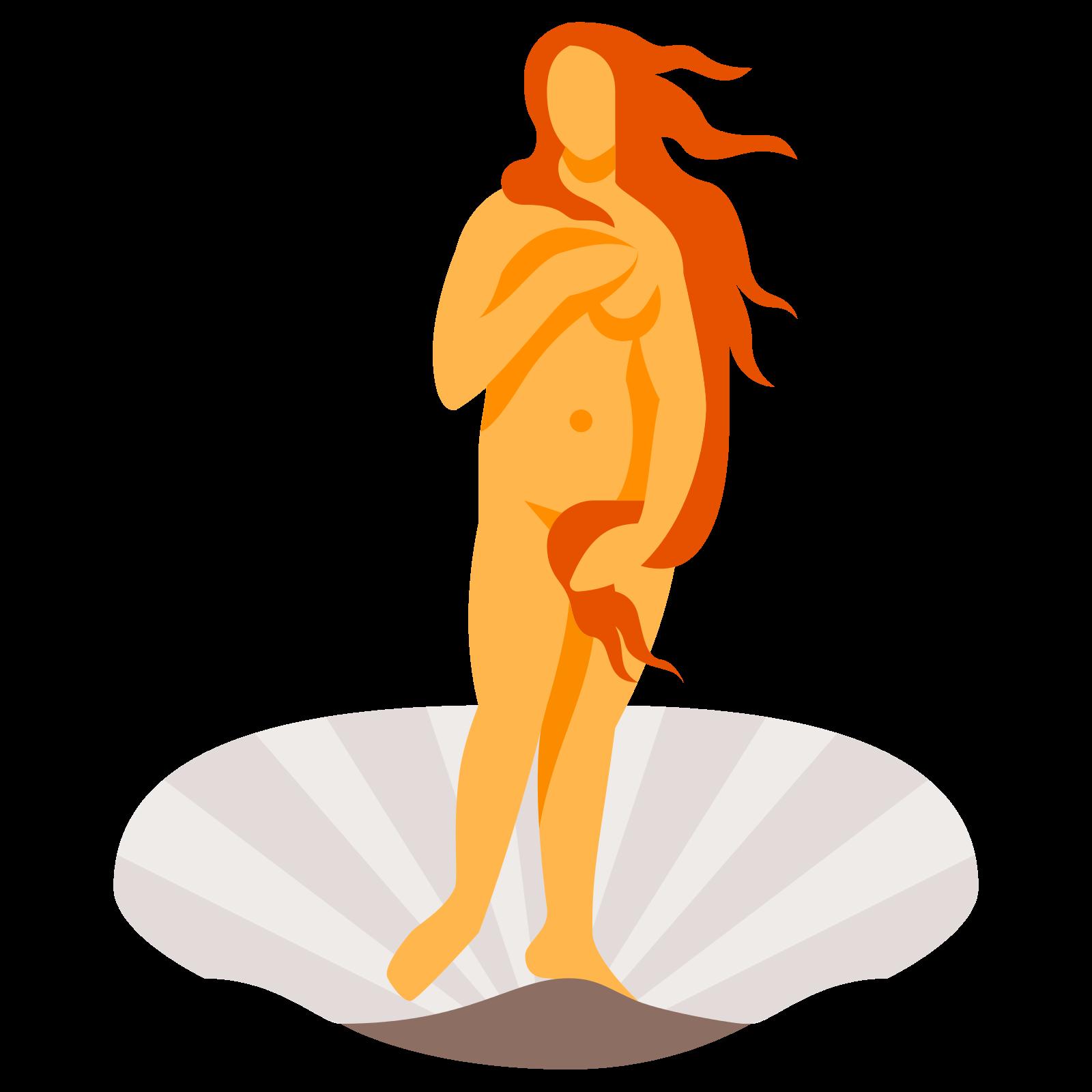 The Birth Of Venus Icon.