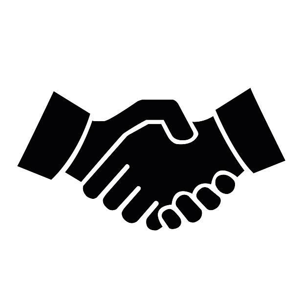 Handshake Clipart Vector.