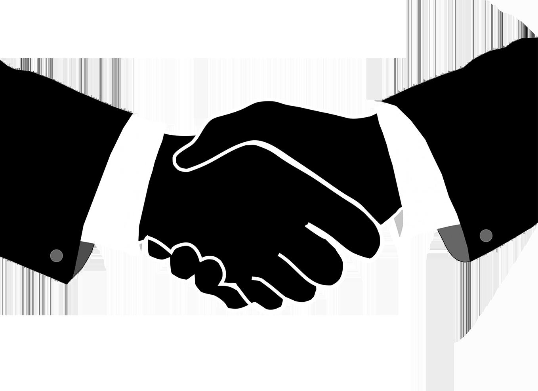 1362 Handshake free clipart.