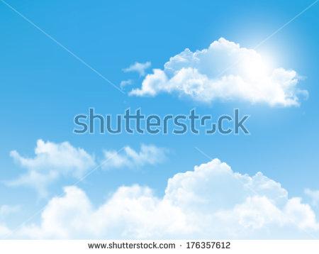 Cloud Sky Stock Vectors & Vector Clip Art.