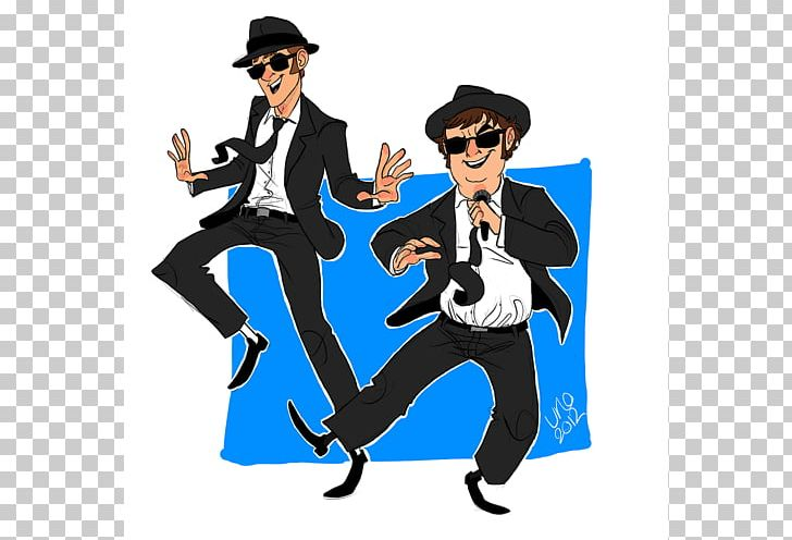 The Blues Brothers Cartoon PNG, Clipart, Art, Blog, Blues.