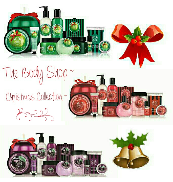The Body Shop Christmas Collection!.