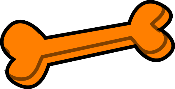 The bone clipart #16
