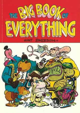 The Big Book of Everything by Hunt Emerson.