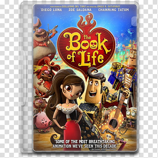 Movie Icon , The Book of Life transparent background PNG.