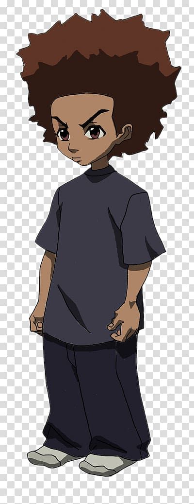 Huey Freeman Riley Freeman Uncle Ruckus Television Character.