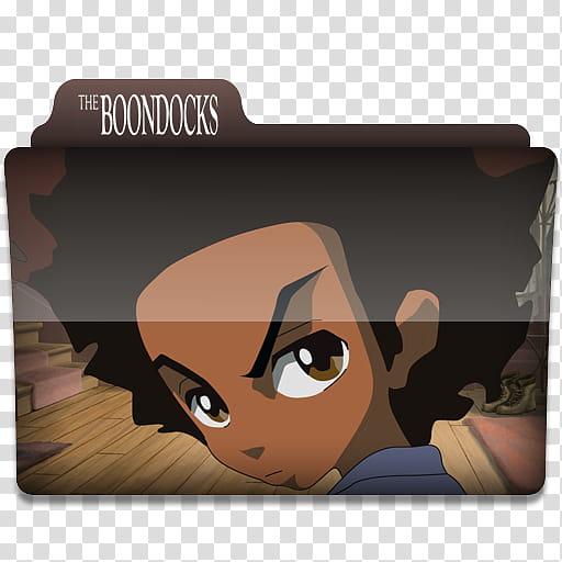 Windows TV Series Folders A B, The Boondocks folder.