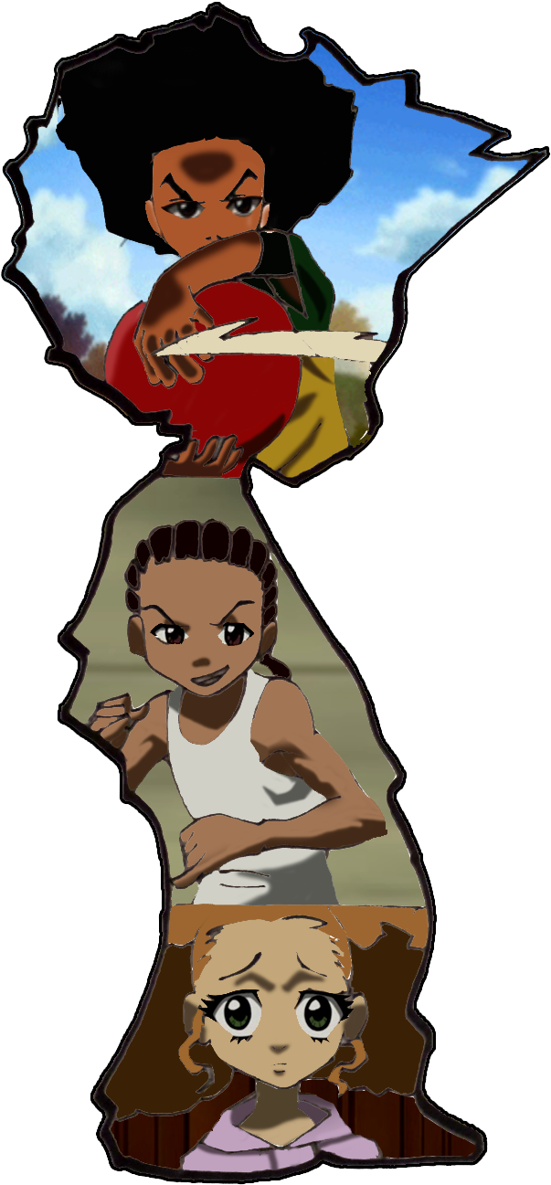 The Boondocks Clipart.