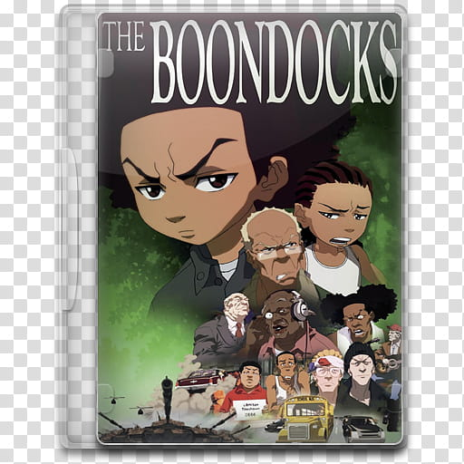 TV Show Icon Mega , The Boondocks, The Boondocks DVD case.