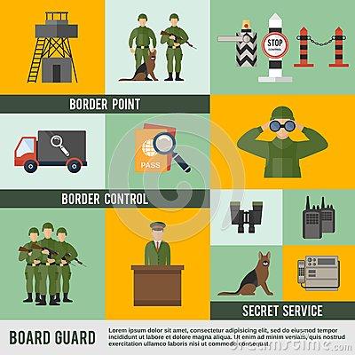 Border Guard Royalty Free Stock Images.