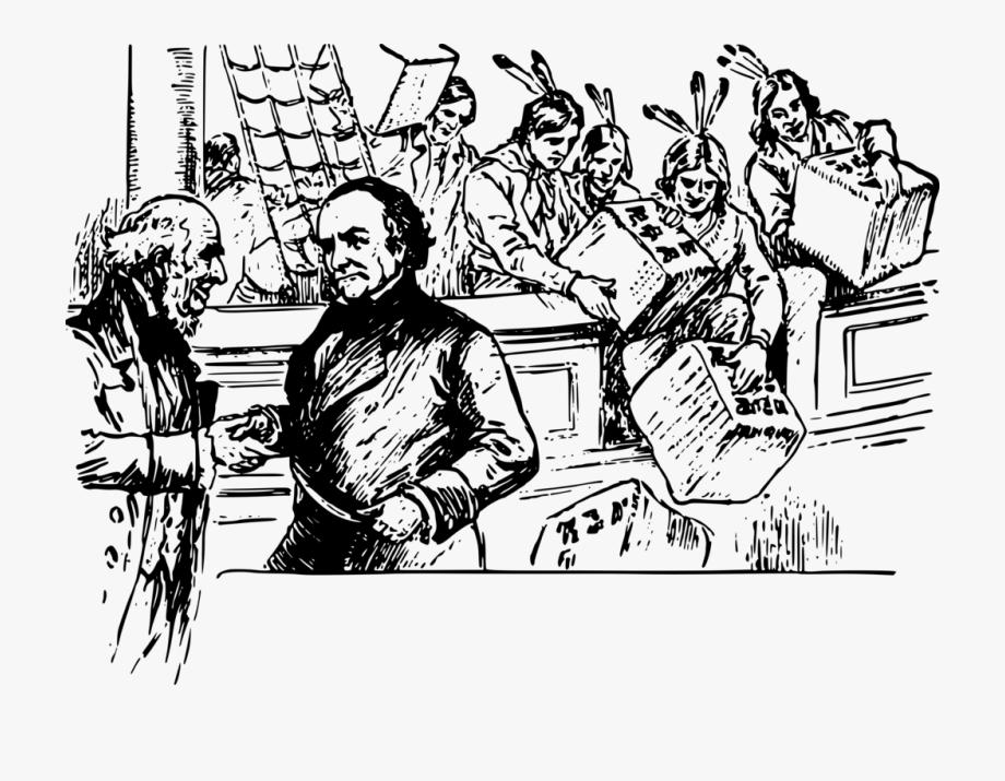 Boston Tea Party Clipart.