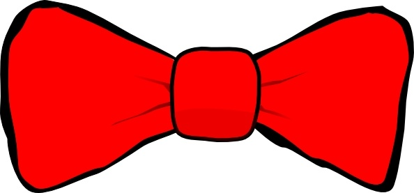 Bow Tie clip art Free vector in Open office drawing svg ( .svg.