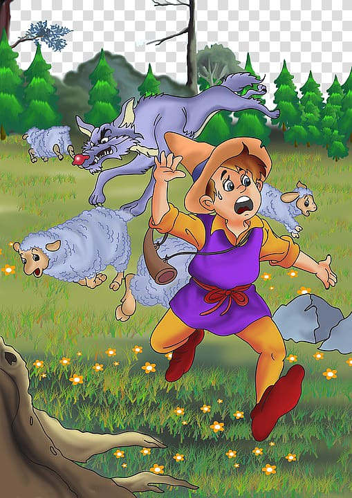 Gray wolf The Boy Who Cried Wolf The Tortoise and the Hare.