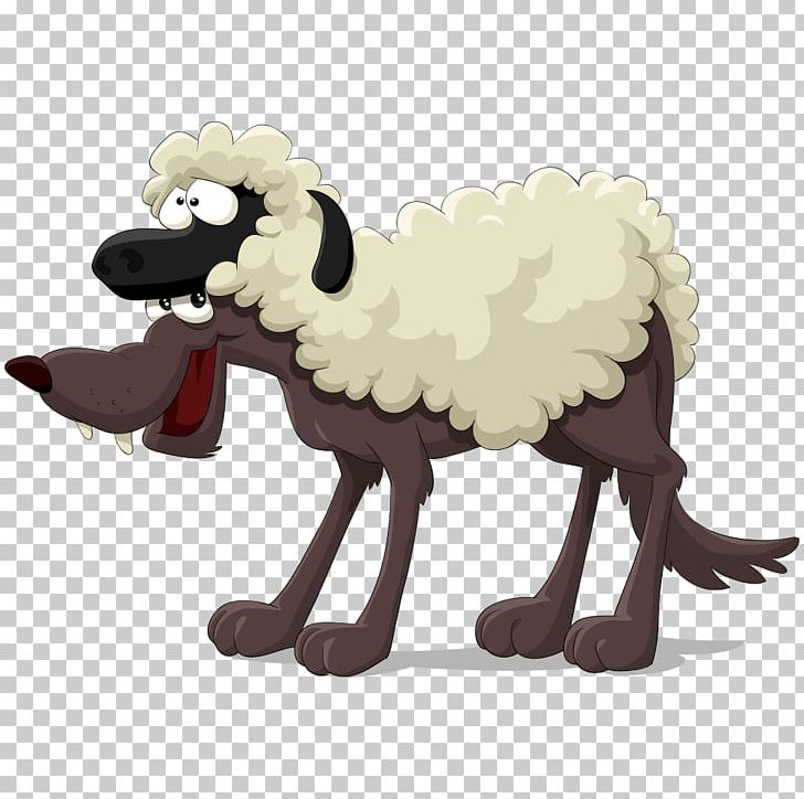 Gray Wolf Sheep The Boy Who Cried Wolf PNG, Clipart, Animals.